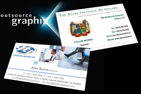 Business cards dublin sample portfolio business card design top 2 reheart Image collections