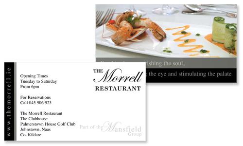 Business cards dublin sample portfolio for Restaurant business cards samples