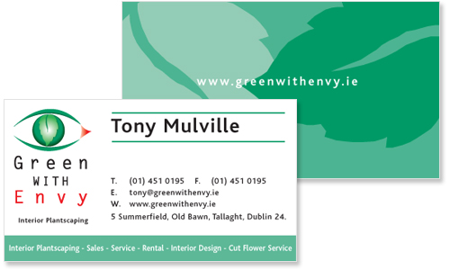 Business Cards Dublin Sample Portfolio